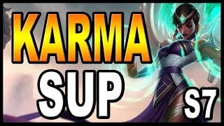 Karma sup build