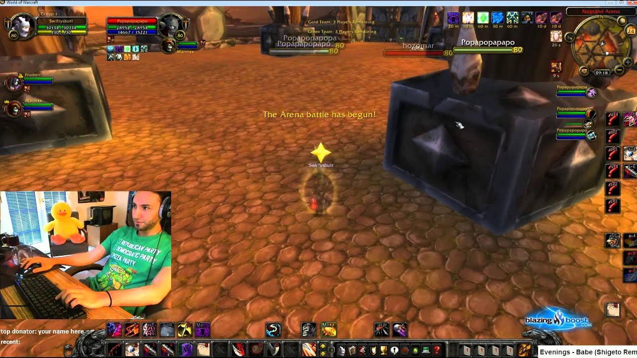 Reckful - RMP on rogue - playing with Fnoberz and Marm on ...