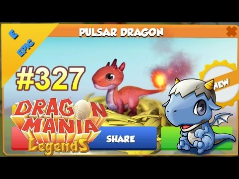 Pulsar Dragon Hatching + NEW Gameloft Teaser!? - Dragon Mania Legends #327