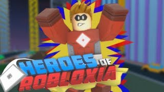 BECOMING THE WORLDS STRONGEST SUPERHERO - France Roblox - Héros de Robloxia