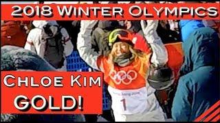 Chloe Kim - 2018 Winter Olympics Pyeongchang Women