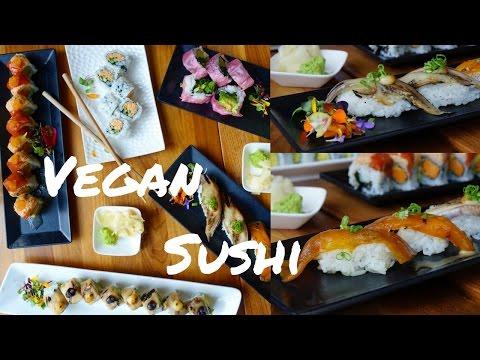 The BEST VEGAN SUSHI in San Francisco, CA