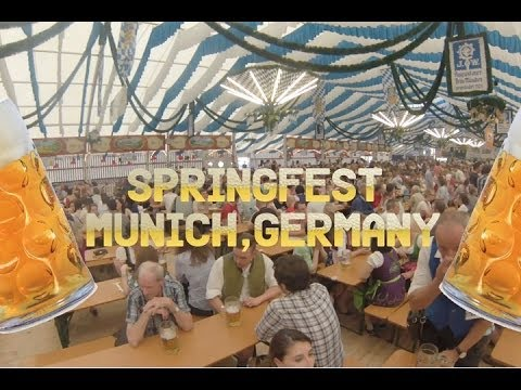 Springfest in Munich, Germany = One Crazy Abroad Weekend