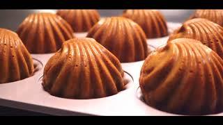 Pistachio Madeleines ピスタチオマドレーヌ | STEY Baking