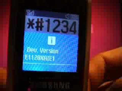 Samsung E1120 Handy Entsperren Simlock Freischalten unlock www.SIMLOCK.cc