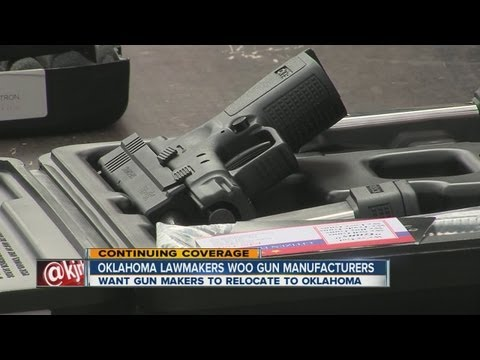 Oklahoma legislators woo top gun makers