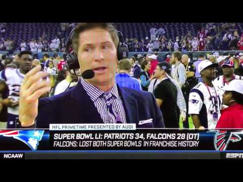 Steve Young admits the Falcons choked in epic collapse!