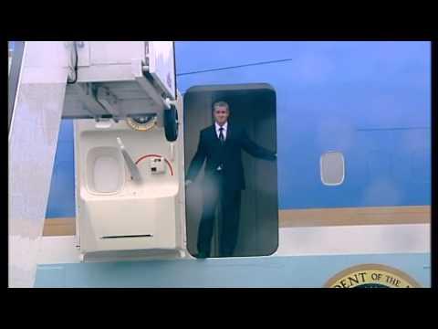 US President Barack Obama Arrives in Ireland!