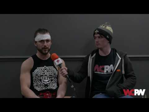 Jack Interviews Adam Cole At WCPW Bulletproof