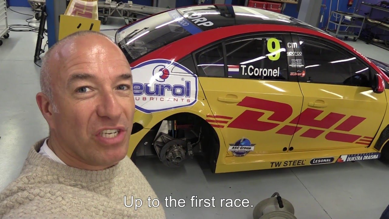Tom Coronel Wtcc 2016 Diary Shakedown Test And Livery Timelapse Tom Coronel Roal Motorsport