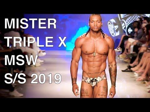 MISTER TRIPLE X | SWIMWEAR 2019 | MIAMI FASHION SHOW | EXCLUSIVE