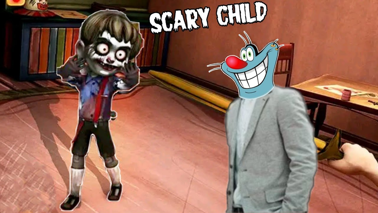 Dadi Ka Bachha 😱 | Scary Child Horror Game With Oggy And Jack