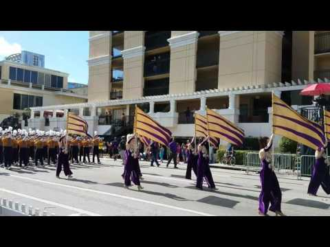 LSU Golden Band from Tigerland - Citrus Bowl Parade 2016