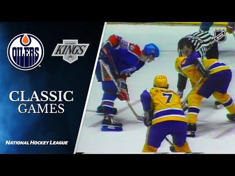 NHL Classic Games: 1982 Oilers Vs. Kings   Div Semi, Gm 4