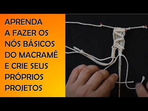 MC01 - Nós básicos de macramê