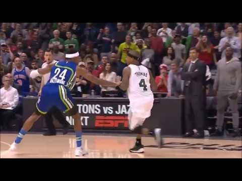 [BASKETBALL MOVES] Isaiah Thomas  Hesitation Move  & Step Back Jumper!!
