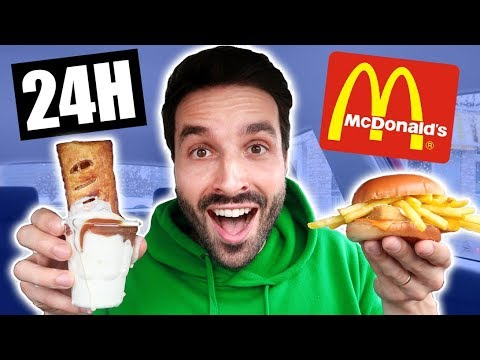 JE MANGE QU'AVEC DES FOOD HACKS MCDO PENDANT 24h