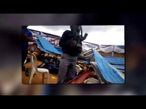 Shocking Video: Showing Collapsed Church In Akwa Ibom State