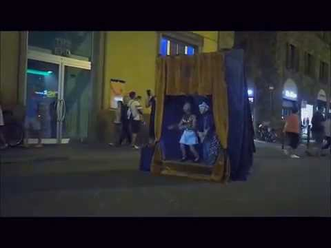 """Funny Street Show Globe """"Italy"""""""