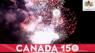 Canada 150 Vancouver Canada Day Fireworks July 2017