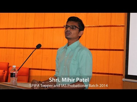 Examination and Interview guidance by Shri Mihir Patel