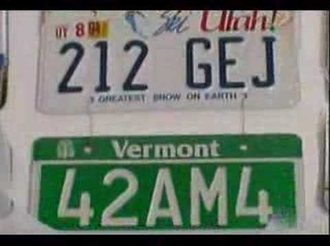 Hanging License Plates On The Wall Without Leaving A Mark