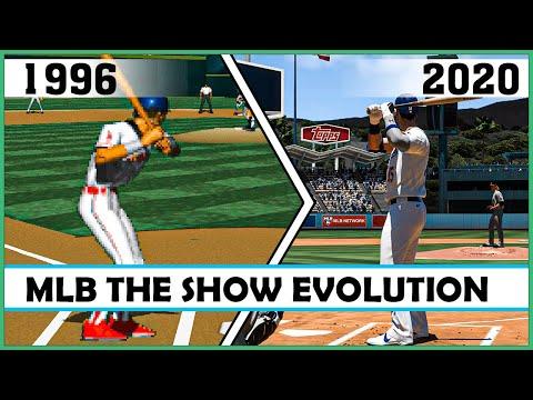 MLB THE SHOW Evolution [1996 - 2020]