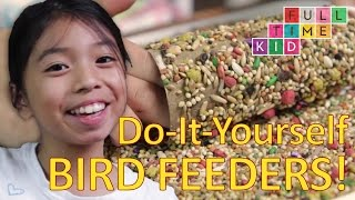 Easy DIY Bird Feeders! | Full-Time Kid | PBS Parents