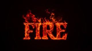 Fire Text Effect | Photoshop Tutorial screenshot 2