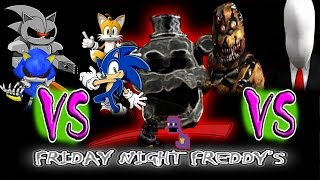 FRIDAY NIGHT FREDDY'S EP 8 SLENDER'S ARRIVAL