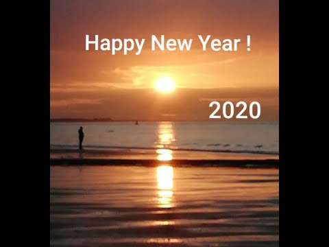 Wish You A Happy New Year  -  Welcome 2020 !   ☆    Frohes Neues Jahr     -      Willkommen 2020 !