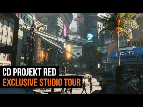 Cyberpunk 2077 - CD Projekt Red Studio Tour | Golden Joystick Awards 2019