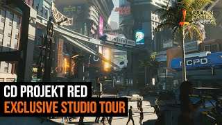 Cyberpunk 2077 - CD Projekt Red Studio Tour | Golden Joystick Awards 2019