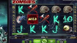 Zombies Slots - Online Free Game Small Win!