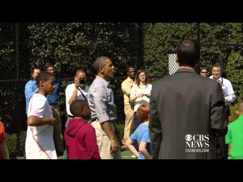 Obama sucks at basketball