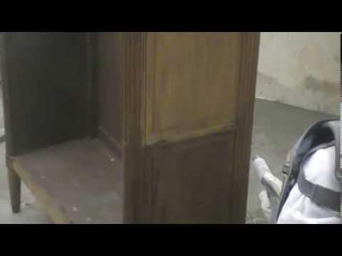 decapage meuble ancien decapage meuble ancien par aerogommage youtube