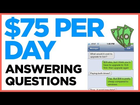 Make Money Answering Questions With Your Phone