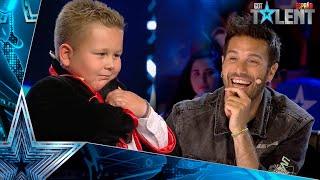 La IMPRESIONANTE magia de este pequeño mago con HARRY POTTER | Audiciones 8 | Got Talent España 2021