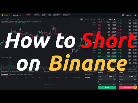 How to Short Crypto on Binance