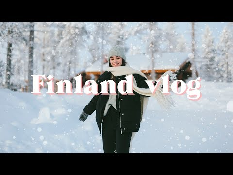 THE ONE WHERE WE WENT TO FINLAND | Vlog | What Olivia Did | AD