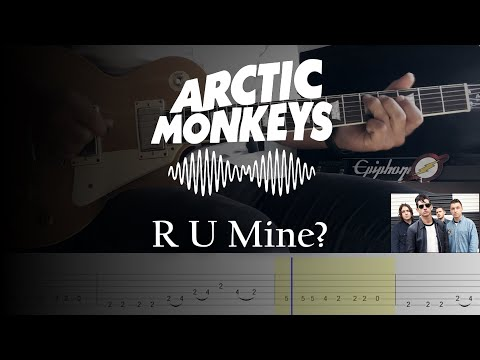 R U Mine? - Artic Monkeys (AM) // Guitar Cover With Tabs Tutorial + Backing Track