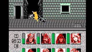 Advanced Dungeons & Dragons: Heroes of the Lance (NES) Longplay