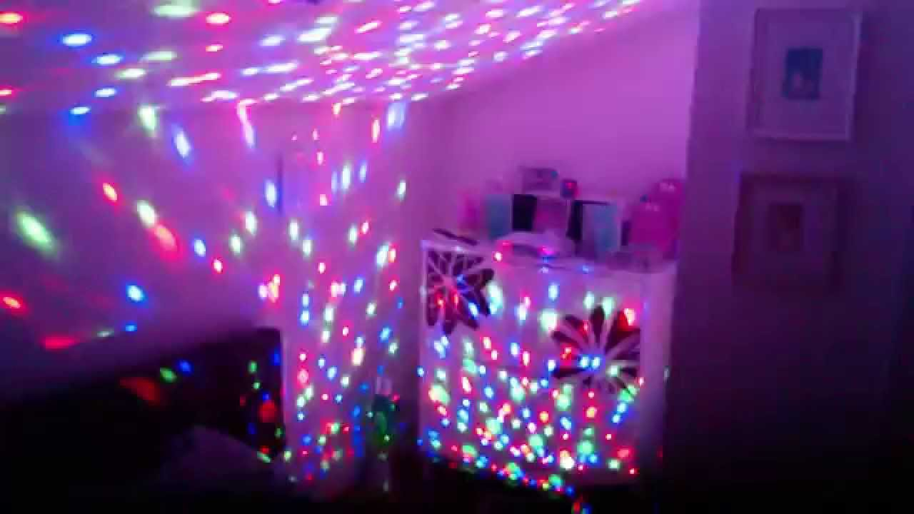 Bedroom Disco YouTube - Disco lights for bedroom