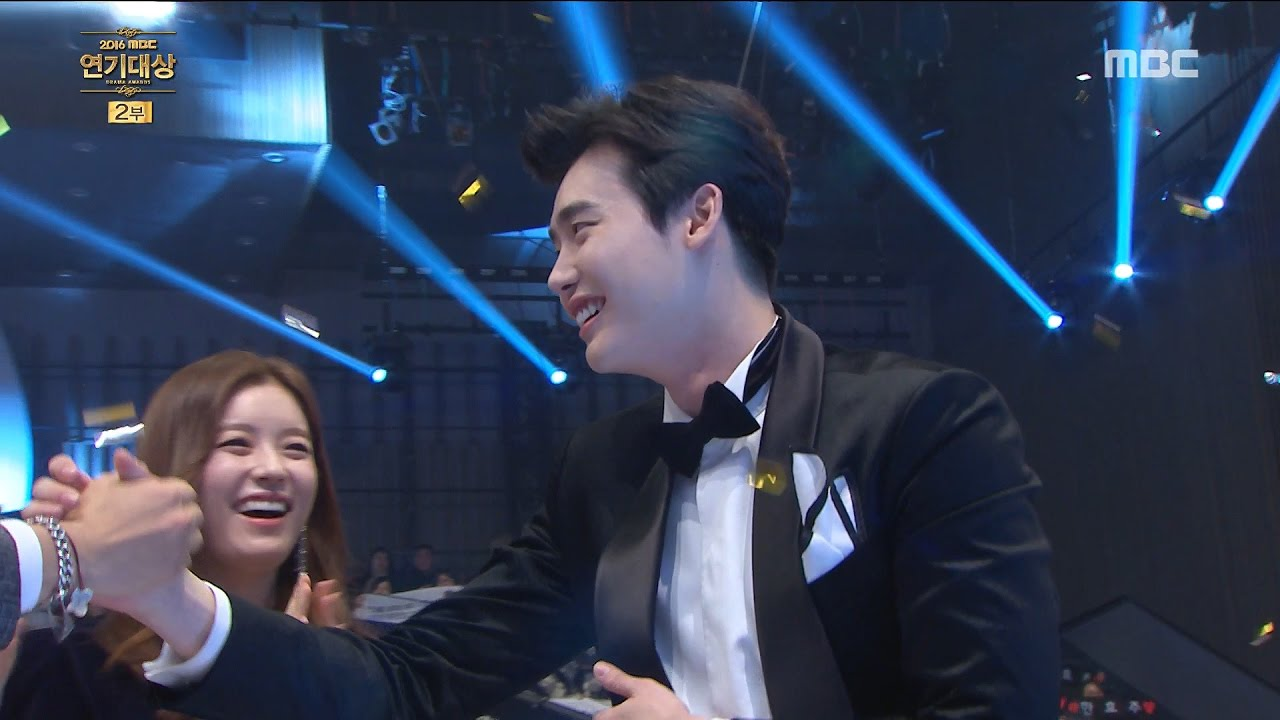 [2016 MBC Drama Awards]2016 MBC 연기대상- Grand prize of the year! Lee Jongseok  20161230