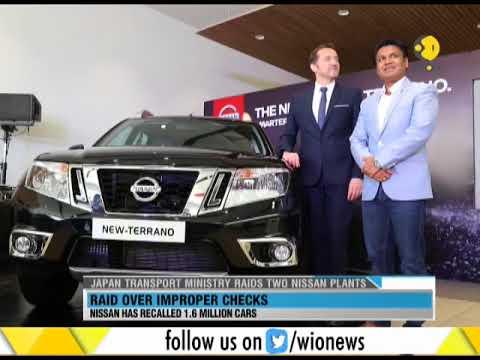 Japan Transport Ministry raids 2 Nissan Plants