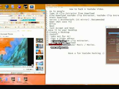 How to hack Youtube videos (For the beginners)