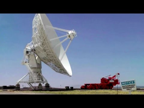 Very Large Array - A Visit to the VLA Radio Astronomy Observatory in New Mexico, Part. 2