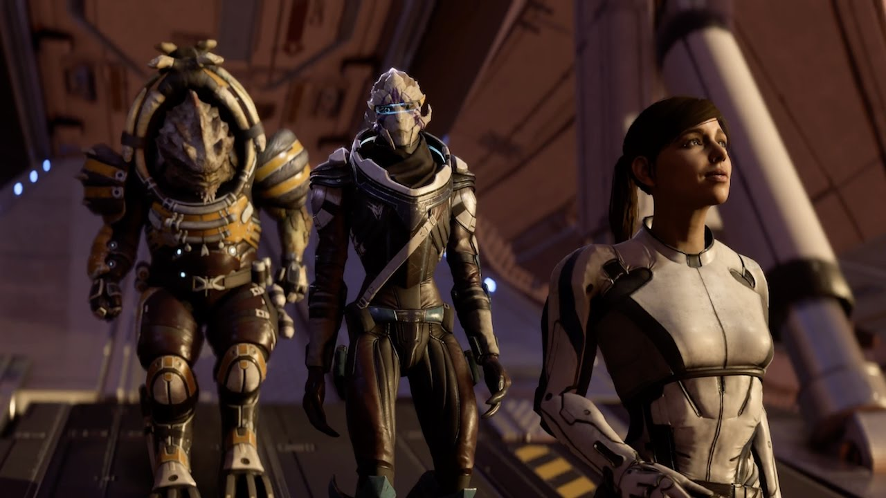 Mass Effect Andromeda Game Awards Gameplay Demo In 4k Youtube Ps4