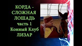 КК Лизар: Работа на корде, корда и сложная лошадь