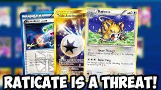 Raticate Destroys ALL GXs & Tag Team GXs! Triple Energy/Raticate Combo is Busted! PTCGO